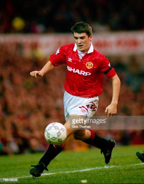 circa 1994 FA Carling Premiership Roy Keane Manchester United