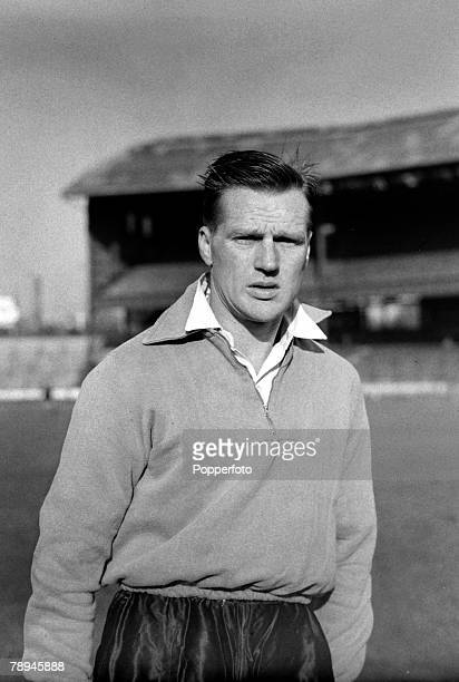 November 1954 Len Phillips Portsmouth and England who gained 3 England caps in the 1950's
