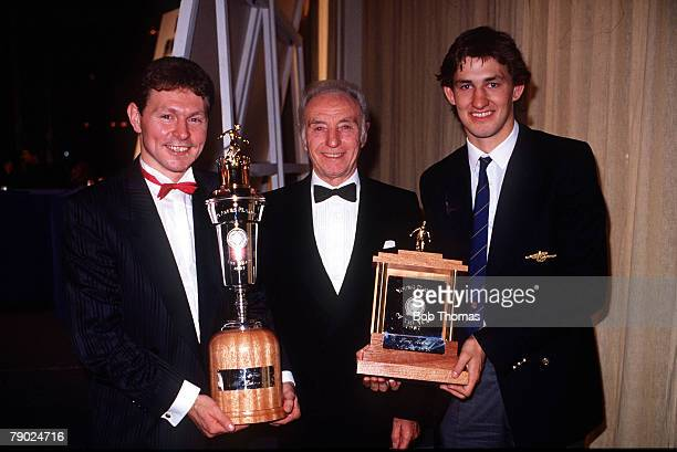 Sport Football Professional Footballers Association Awards London England 5th April 1987 Tottenham Hotspur's Clive Allen is named PFA Player of the...