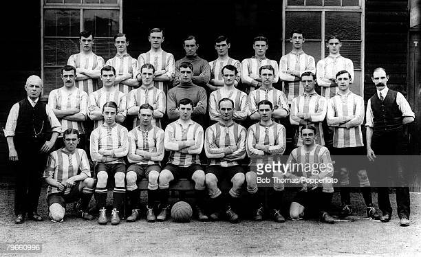 Sport Football Sheffield Wednesday FC circa 1913
