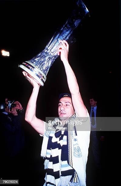 Sport Football UEFA Cup Final Second Leg White Hart Lane London England 23rd May 1984 Tottenham Hotspur 1 v Anderlecht 1 Tottenham Hotspur's Osvaldo...