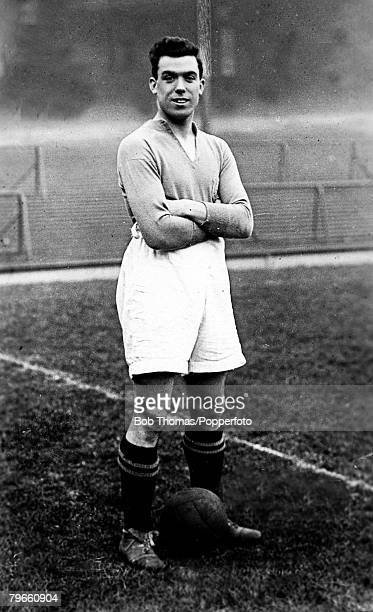 Sport Football William 'Dixie' Dean Everton centre forward one of the great forwards who played 16 times for England