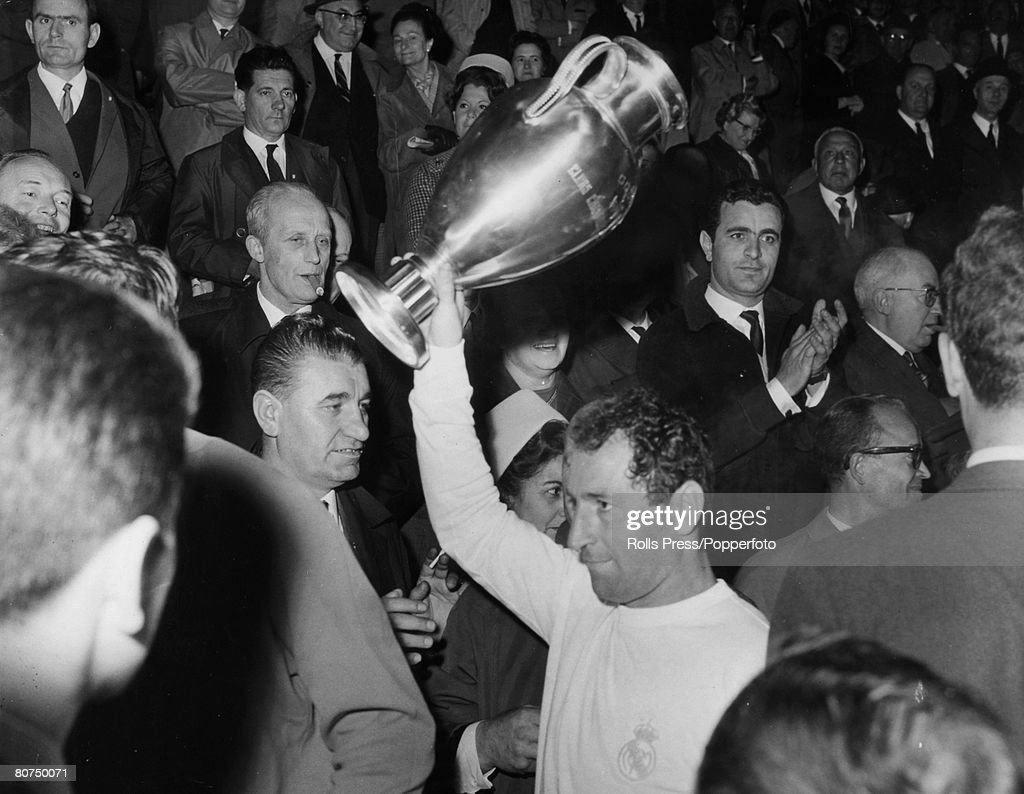 Sport Football European Cup Final in Brussels Real Madrid 2 v