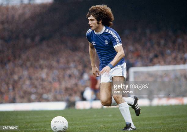 circa 1979 Alberto Tarantini Birmingham City He was an Argentina international and played in the 1978 and 1982 World Cup Finals
