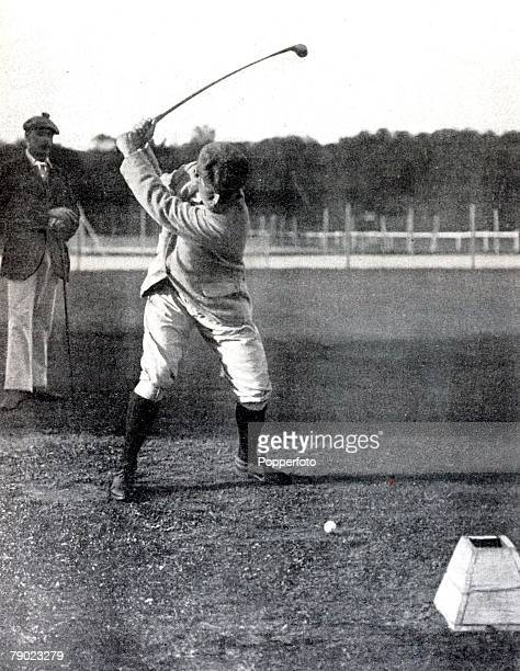 Sport Golf 1900 Olympic Games Paris France Charles Sands USA the winner of the Golf event which is now a discontinued Olympic sport