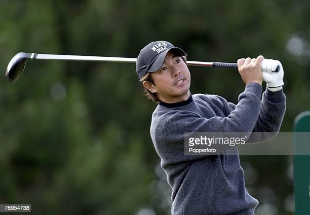 Sport Golf British Open Golf Championship Royal Troon Scotland 16th July 2004 Keiichiro Fukabori of Japan