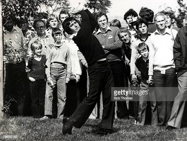 July 1979 Spain's Severiano Ballesteros born 1957 playing in the English Golf Classic at the Belfry Severiano Ballesteros one of Europe's best ever...