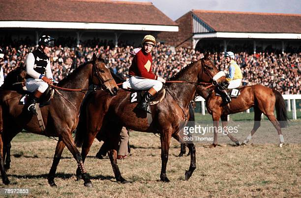 Sport HorseRacing The Grand National AintreeRacecourse England Red Rum pictured on the left pictured on the right