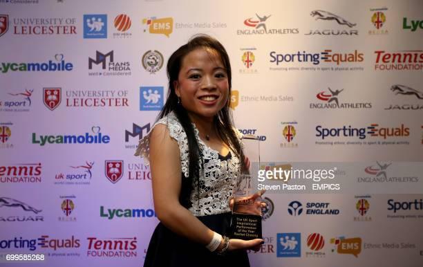 UK Sport Inspirational Performance of the Year winner Rachel Choong