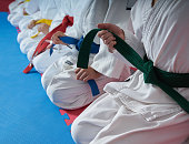 karate kids martial arts training