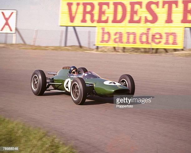 20th May 1962 Dutch Grand Prix at Zandvoort Giancarlo Baghetti Italy in the Ferrari