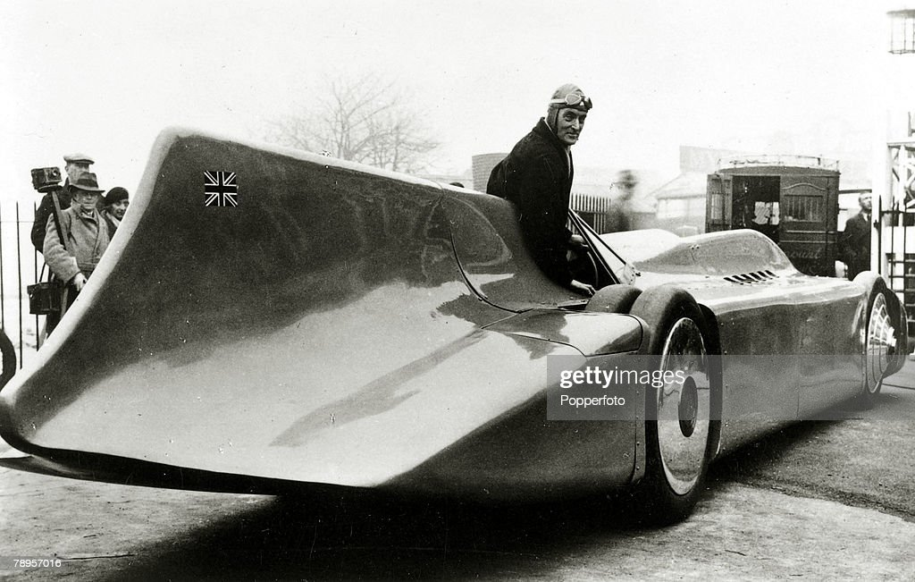 Years Ago British Driver Malcolm Campbell Set A New World Speed