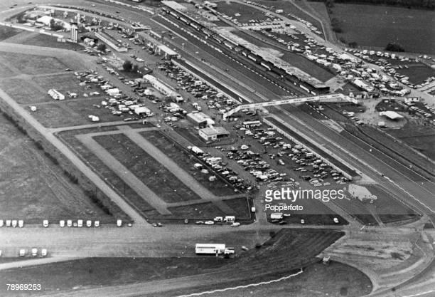 circa 1960's Silverstone racing circuit Silverstone Northamptonshire