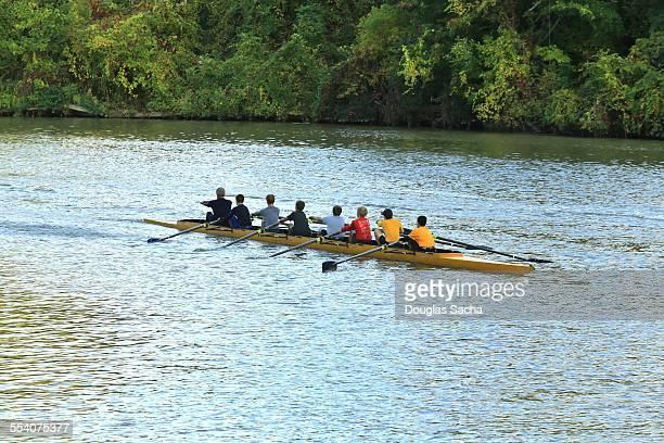 Sport rowing team