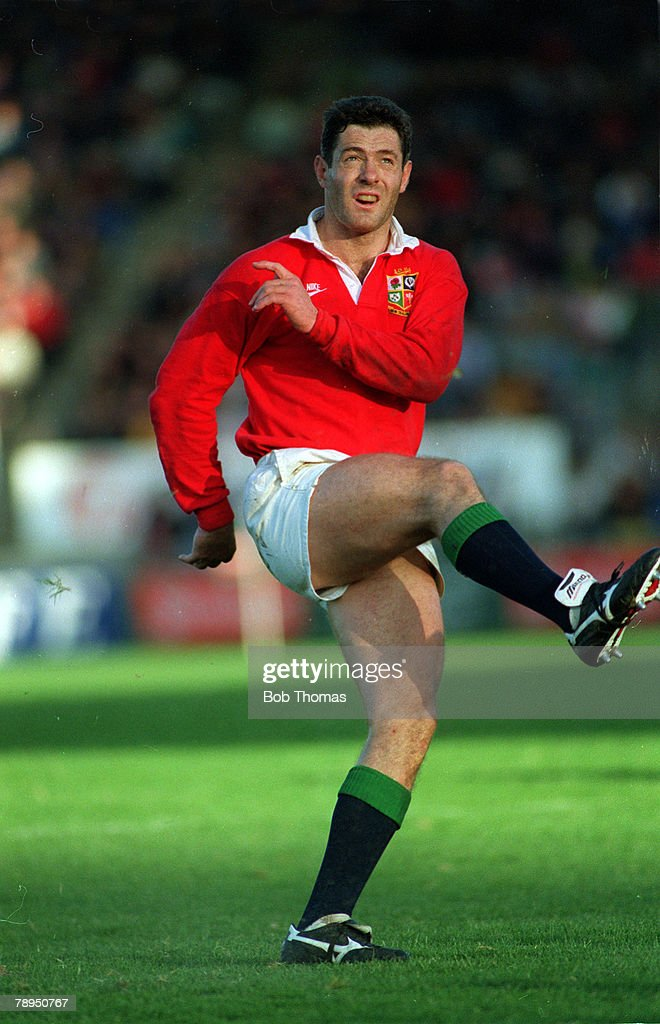 Sport Rugby Union 2nd June 1993 British Lions Tour of New Zealand Christchurch Canterbury v British Lions Gavin Hastings British Lions