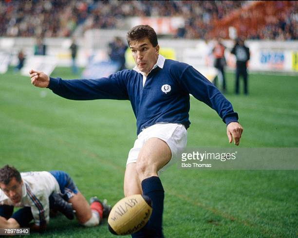 18th March 1989 5 Nations Championship in Paris France 19 v Scotland 3 Iwan Tukalo Scotland