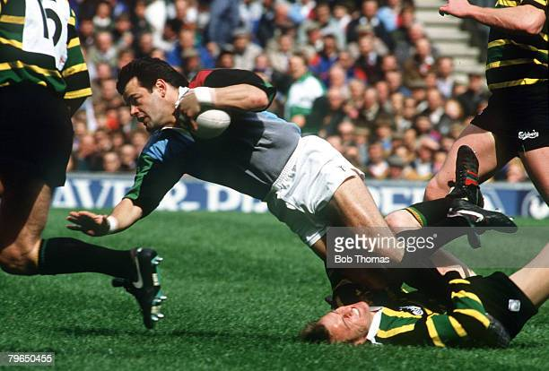 1991 Pilkington Cup Final at Twickenham Harlequinsv Northampton aet Will Carling Harlequins Will Carling was one of England's most successful rugby...