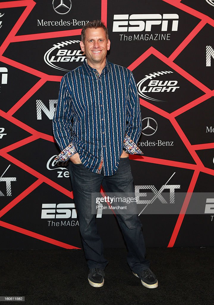 Sport Science's John Brenkus attends ESPN The Magazine's 'NEXT' Event at Tad Gormley Stadium on February 1, 2013 in New Orleans, Louisiana.