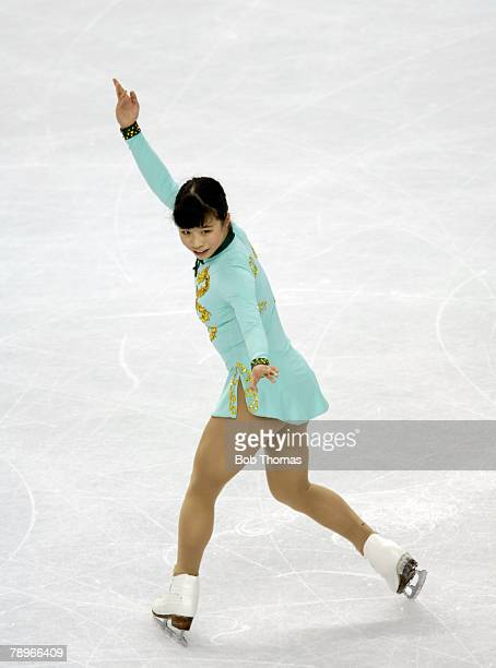 Sport Winter Olympic Games Torino Italy 10th 26th February 2006 23rd February Figure Skating Ladies Free Mira Leung of Canada