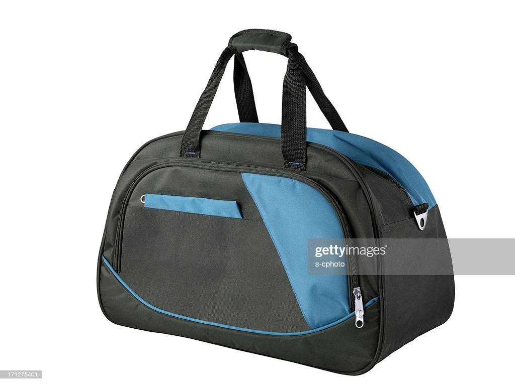 Sporttasche (Klicken Sie hier, um weitere Informationen) : Stock-Foto