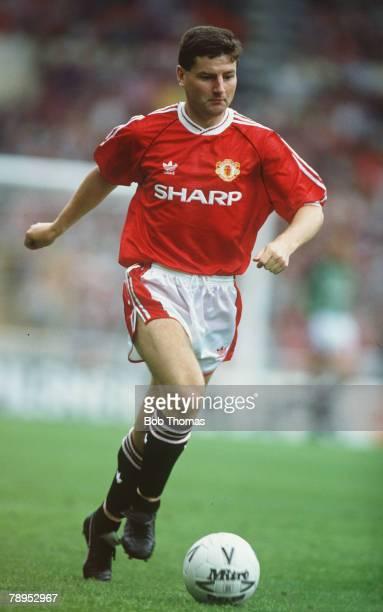 18th August 1990 Denis Irwin Manchester United defender who won 56 Republic of Ireland international caps 19912000