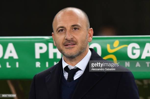 Sportif Director of FC Internazionale Milano Piero Ausilio attend the Serie A match between Hellas Verona FC and FC Internazionale at Stadio...