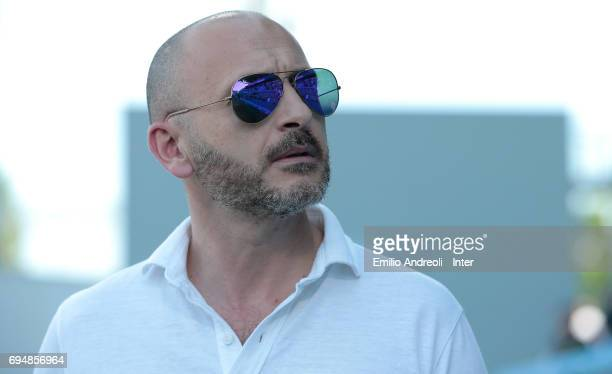Sportif Director of FC Internazionale Milano Piero Ausilio looks on before the Primavera TIM Playoffs match between FC Internazionale and ACF...