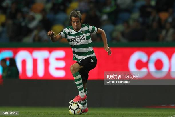Sporting CP defender Fabio Coentrao from Portugal during the Portuguese Primeira Liga round 6 match between Sporting CP and CD Tondela at Estadio...