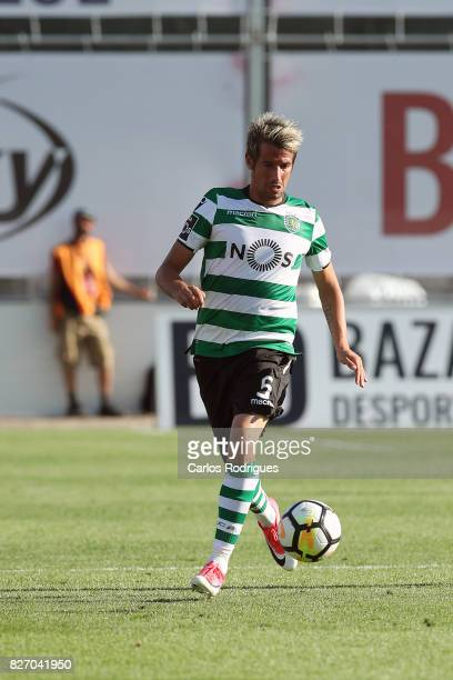 Sporting CP defender Fabio Coentrao from Portugal during the match between Desportivo das Aves vs Sporting CP for the first round of the Portuguese...
