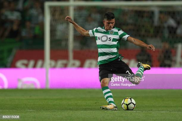 Sporting CP defender Jonathan Silva from Argentina during the Portuguese Primeira Liga round two match between Sporting CP and Vitoria FC at Estadio...