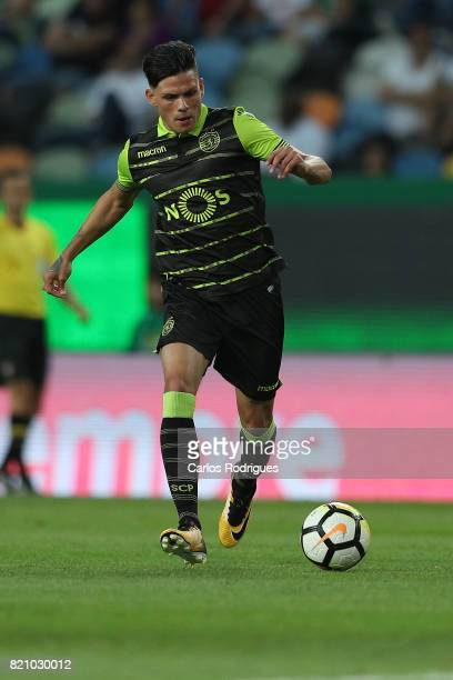 Sporting CP defender Jonathan Silva from Argentina during the Friendly match between Sporting CP and AS Monaco at Estadio Jose Alvalade on July 22...