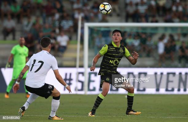 Sporting CP defender Jonathan Silva from Argentina in action during PreSeason Friendly match between Sporting CP and Vitoria Guimaraes at Estadio...