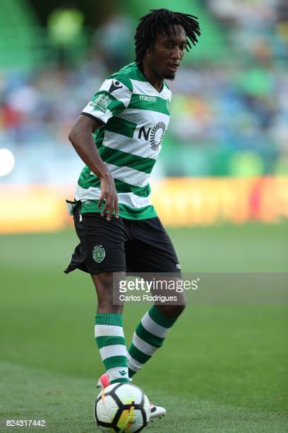 Sporting CP forward Gelson Martins from Portugal during the Five Violins Trophy match between Sporting CP and AC Fiorentina at Estadio Jose Alvalade...