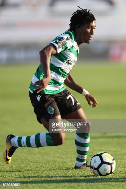 Sporting CP forward Gelson Martins from Portugal during the match between Desportivo das Aves vs Sporting CP for the first round of the Portuguese...