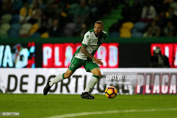 Sporting CP forward Luc Castaignos from Holand during the Sporting CP v SC Praiense Portuguese Cup 4 round match at Estadio Jose Alvalade on November...