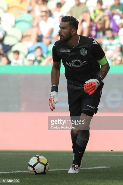 Sporting CP goalkeeper Rui Patricio from Portugal during the Five Violins Trophy match between Sporting CP and AC Fiorentina at Estadio Jose Alvalade...