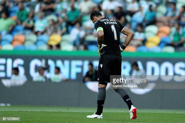 Sporting CP goalkeeper Rui Patricio from Portugal during the Friendly match between Sporting CP and AS Monaco at Estadio Jose Alvalade on July 22...