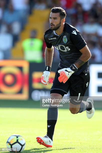 Sporting CP goalkeeper Rui Patricio from Portugal during the match between Desportivo das Aves vs Sporting CP for the first round of the Portuguese...