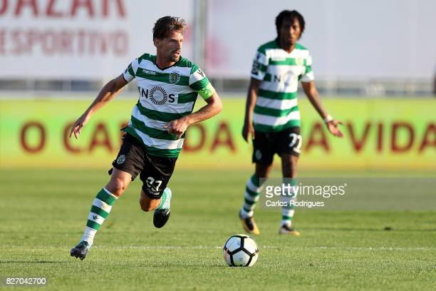 Sporting CP midfielder Adrien Silva from Portugal during the match between Desportivo das Aves vs Sporting CP for the first round of the Portuguese...