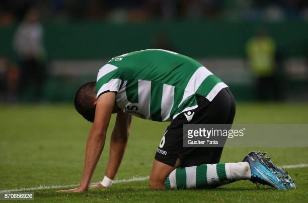 Sporting CP midfielder Rodrigo Battaglia from Argentina during the Primeira Liga match between Sporting CP and SC Braga at Estadio Jose Alvalade on...