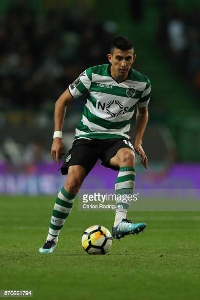 Sporting CP midfielder Rodrigo Battaglia from Argentina during the Portuguese Primeira Liga match between Sporting CP and SC Braga at Estadio Jose...