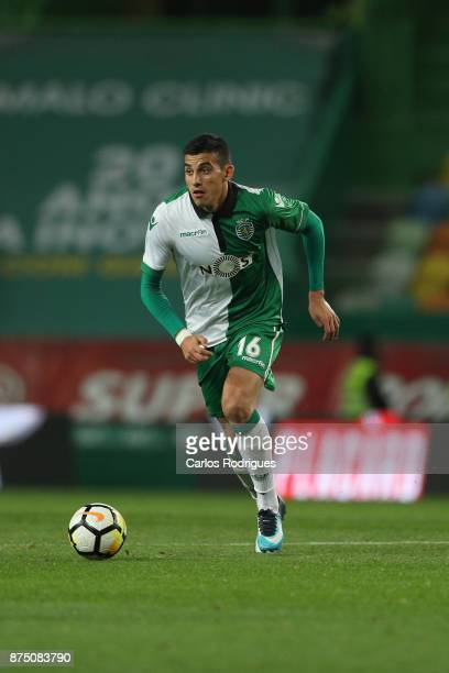 Sporting CP midfielder Rodrigo Battaglia from Argentina during the match between Sporting CP and FC Famalicao for the Portuguese Cup at Estadio Jose...