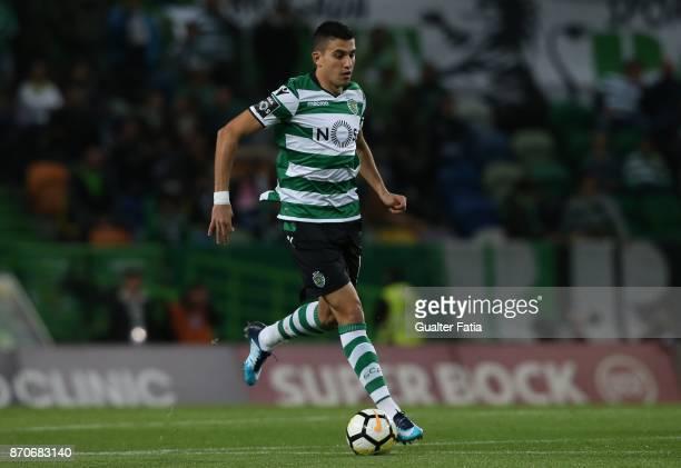 Sporting CP midfielder Rodrigo Battaglia from Argentina in action during the Primeira Liga match between Sporting CP and SC Braga at Estadio Jose...