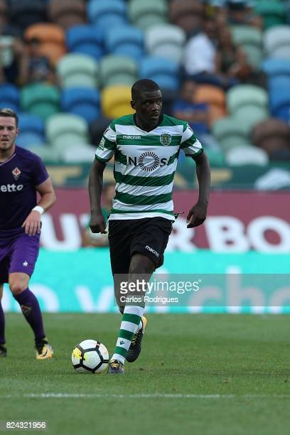 Sporting CP midfielder William Carvalho from Portugal during the Five Violins Trophy match between Sporting CP and AC Fiorentina at Estadio Jose...