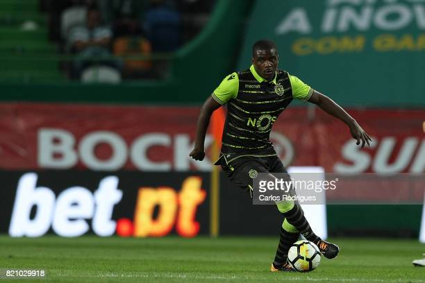 Sporting CP midfielder William Carvalho from Portugal during the Friendly match between Sporting CP and AS Monaco at Estadio Jose Alvalade on July 22...
