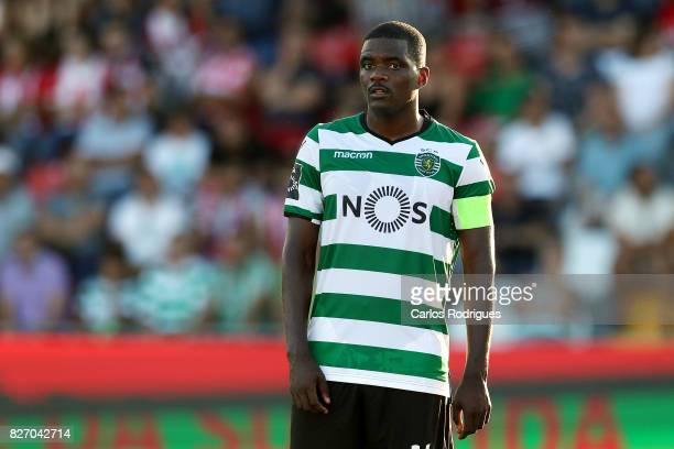 Sporting CP midfielder William Carvalho from Portugal during the match between Desportivo das Aves vs Sporting CP for the first round of the...