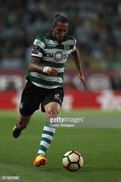 Sporting CP's defender Ezequiel Schelotto from Argentina during the Sporting CP v SL Benfica Portuguese Primeira Liga match at Estadio Jose Alvalade...