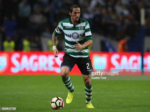 Sporting CPÕs defender Ezequiel Schelotto from Argentina in action during the Primeira Liga match between FC Porto and Sporting CP at Estadio do...