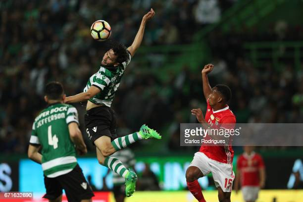 Sporting CP's defender Paulo Oliveira from Portugal during the Sporting CP v SL Benfica Portuguese Primeira Liga match at Estadio Jose Alvalade on...