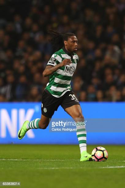 Sporting CP's defender Ruben Semedo from Portugal during the FC Porto v Sporting CP Primeira Liga match at Estadio do Dragao on February 04 2017 in...